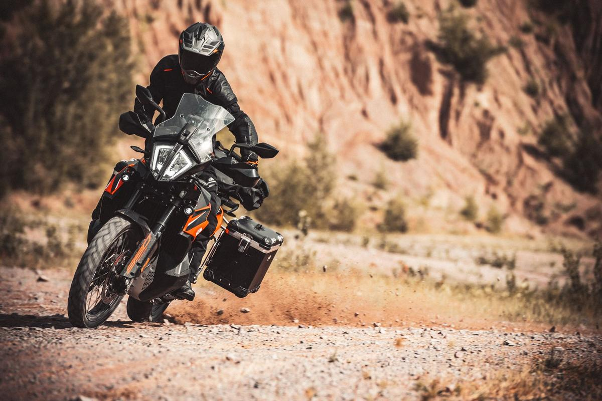 The middleweight category is creeping upward again... KTM has announced new 890 Adventure bikes not much pricier than its 790 Adventure series