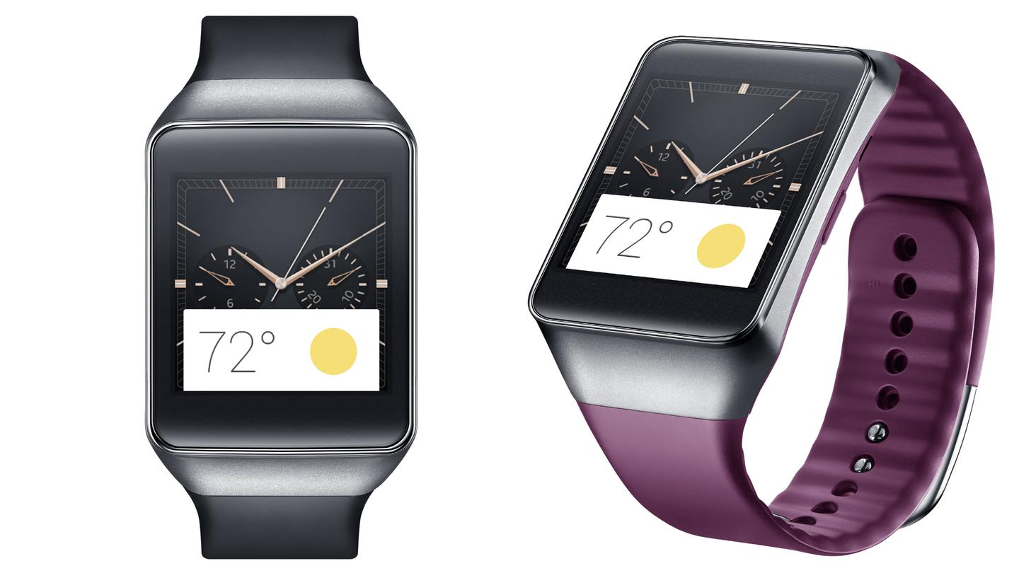 Samsung is launching its first Android Wear-based smartwatch, the Gear Live