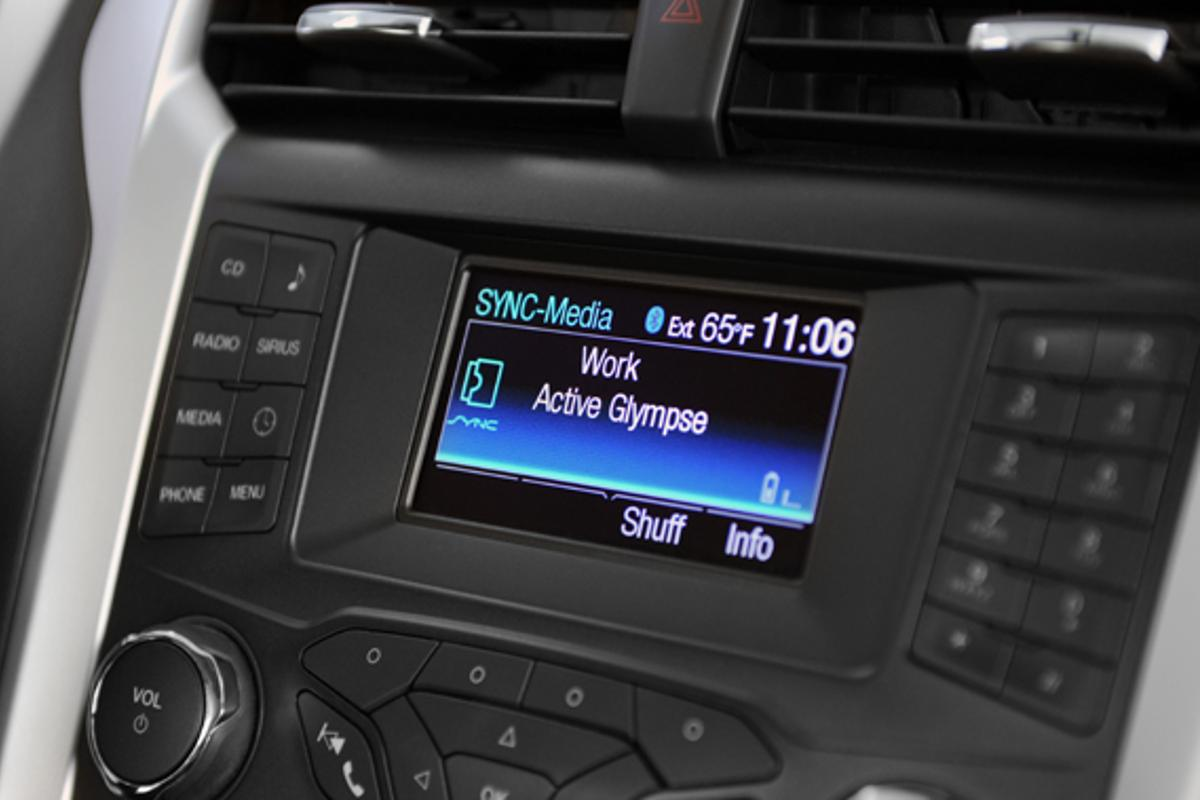 The Glympse app now works seamlessly with Ford SYNC AppLink
