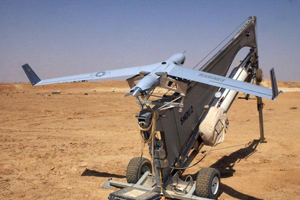 A ScanEagle in service with the US Army (Image: Boeing)