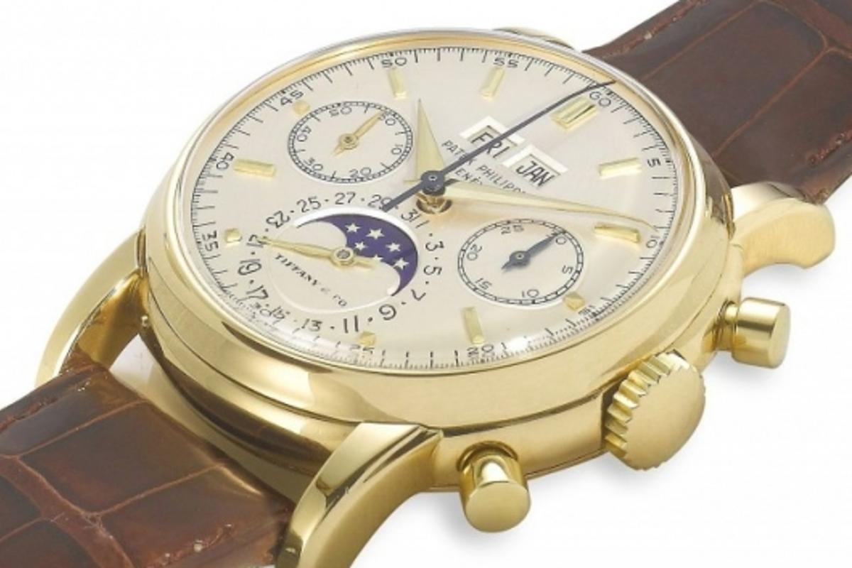 Patek Philippe wristwatches retailed and signed by Tiffany & Co. are highly prized by collectors