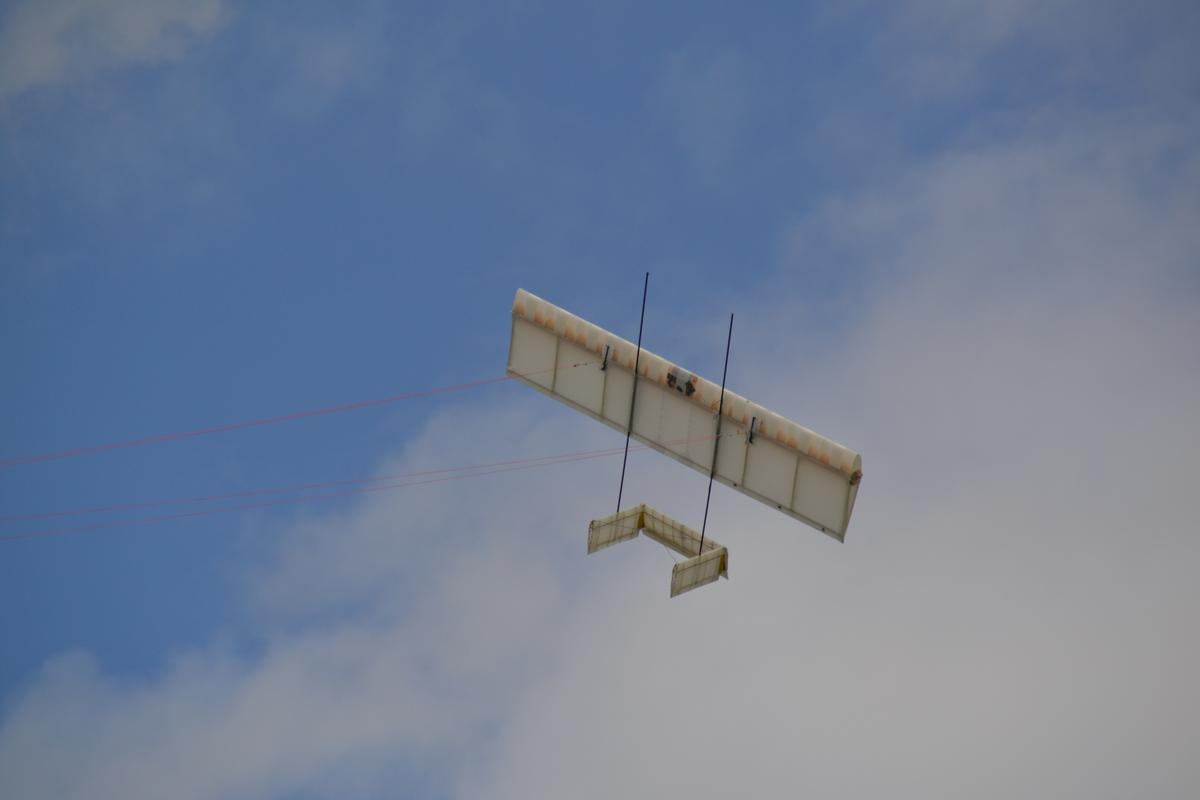 TwingTec's Twing (or tethered wing) prototype