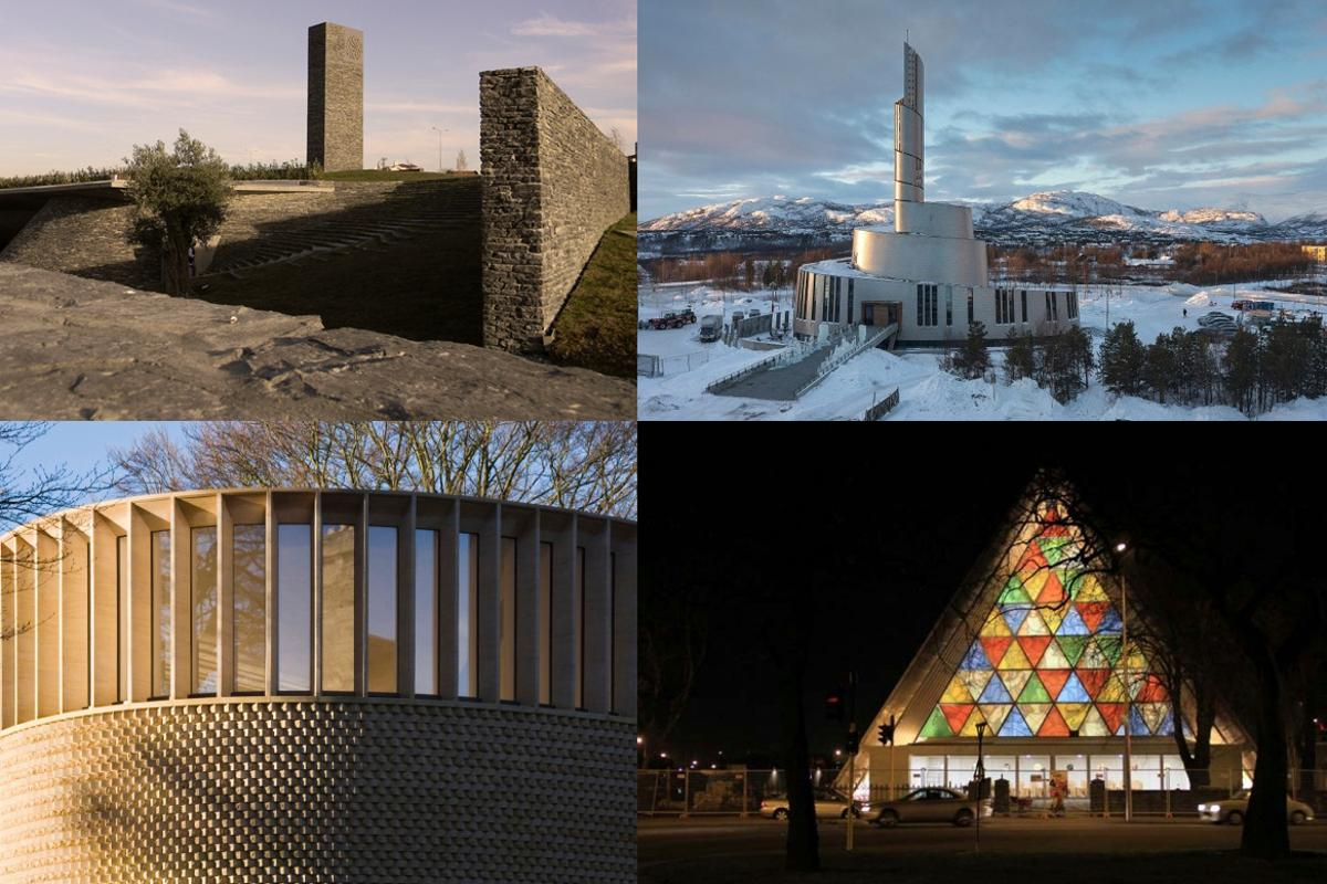 Organized religion has provided the inspiration and budget for some of the world's most impressive buildings, including some modern architectural masterpieces