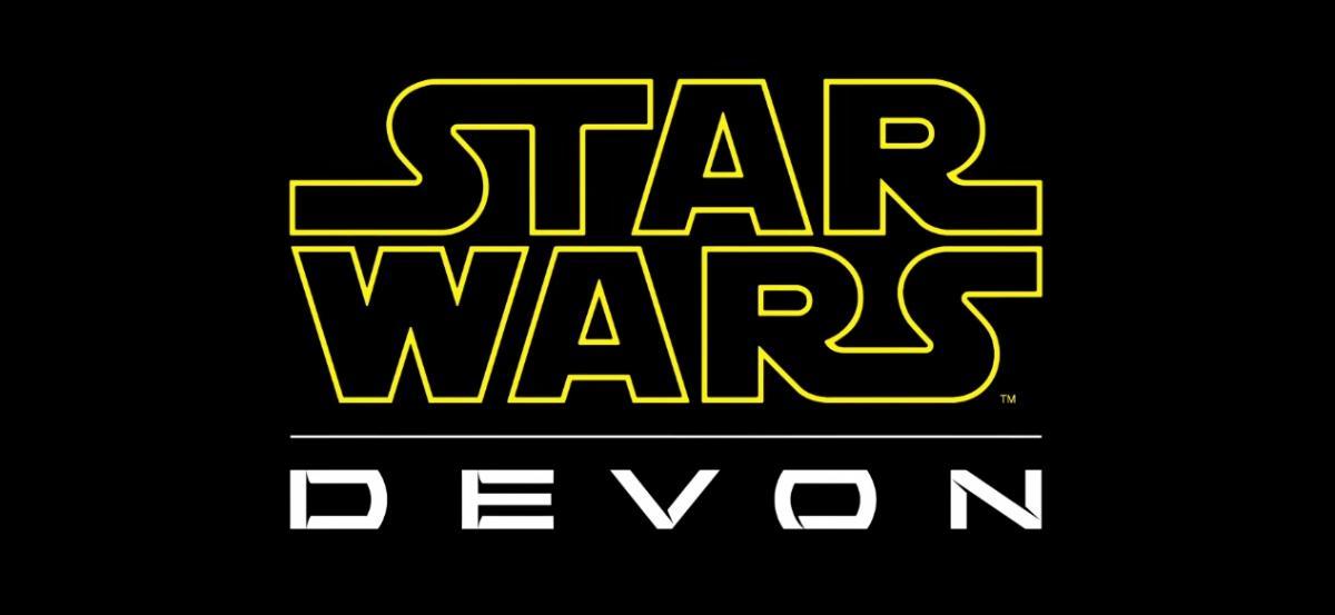 Star Wars by Devon has its very own Star Wars-inspired logo