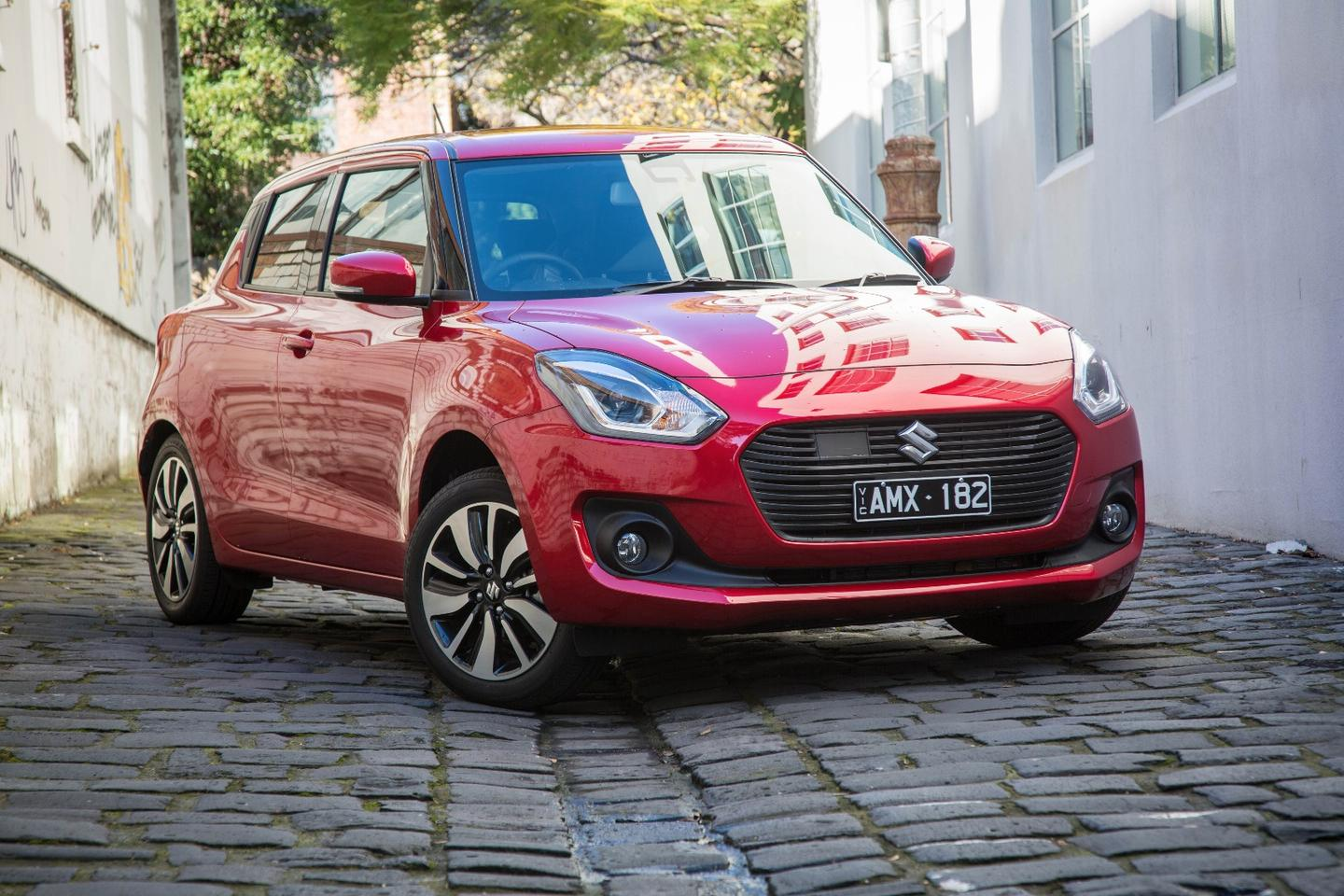 The new Swift GLX Turbo is at home in the city