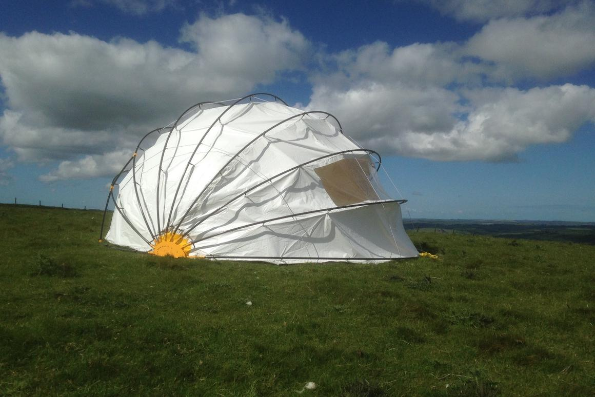 The Mollusc Tent gives the dome tent a new look and function