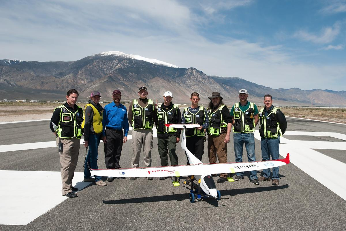 The Desert Research Institute (DRI) has gained approval from the Federal Aviation Administration to test its aircraft at altitudes of up to 1,200 ft (365 m)