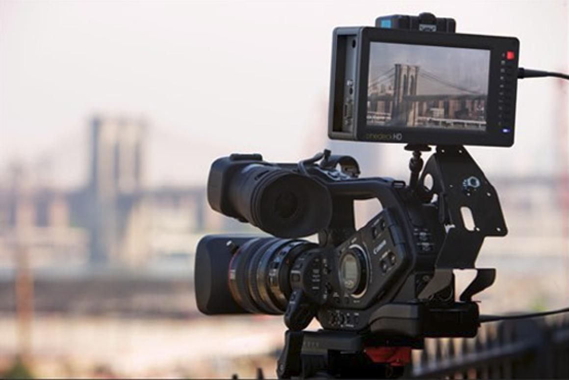 Cinedeck: portable touchscreen device enables full editing