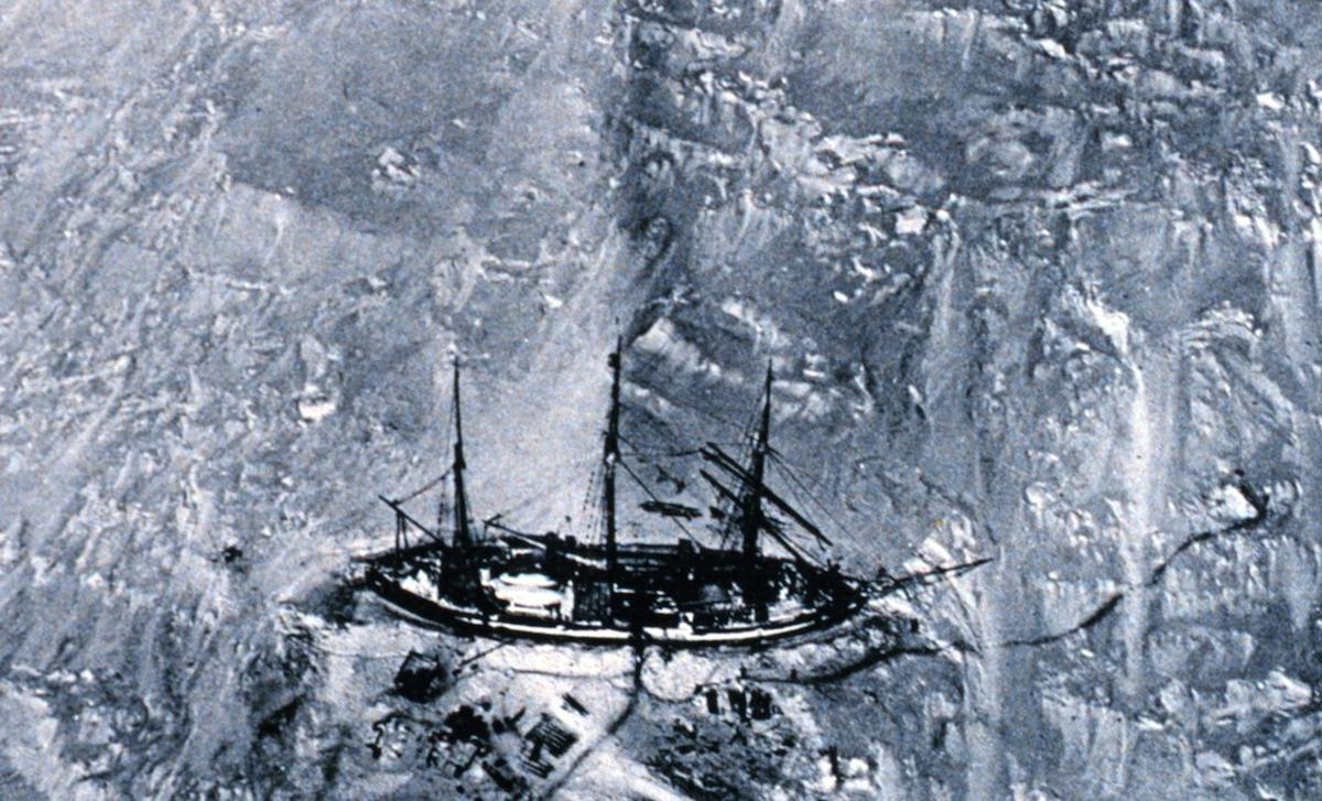 Researchers have used the shiplogbooks of early 20th century Antarctic explorers, such as Erich von Drygalski's ship the Gauss, to compare sea ice coverage then to now, and found it's largely the same