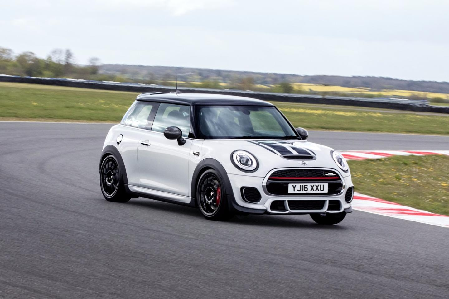 The John Cooper Works Challenge is based on the latest John Cooper Works Hatch