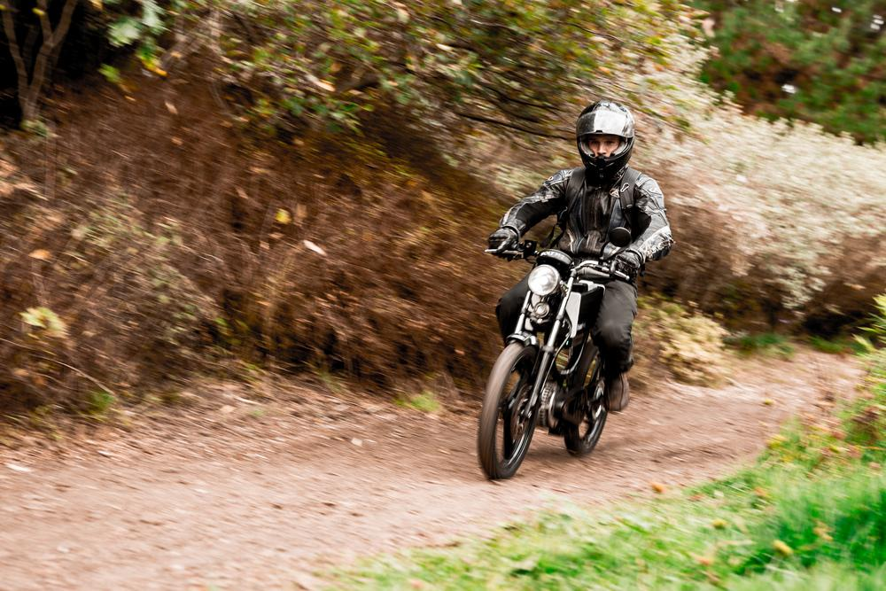 The Bolt M-1 does actually ride off road, though it looks better suited to regular commuting
