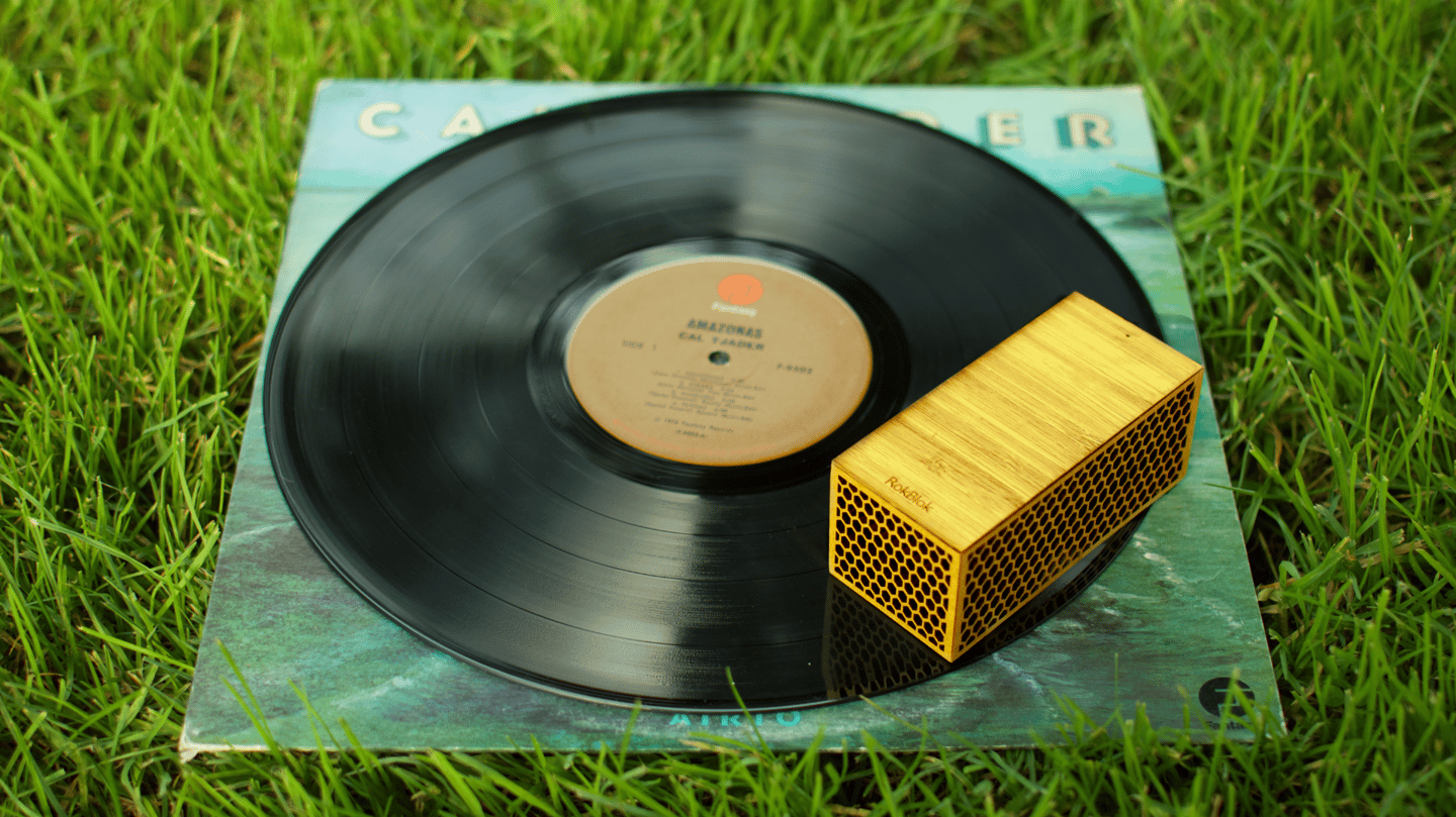 The RokBlok moves around your records, while they stay still