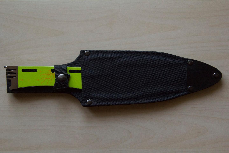 The Kniper in its sheath