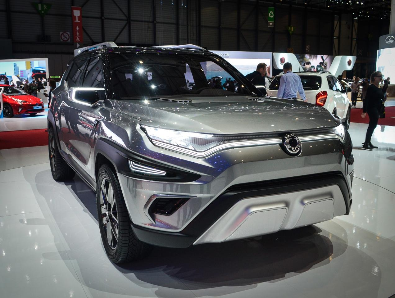 Never shy about an SUV concept, SsangYong shows the XAVL Concept at the Geneva show