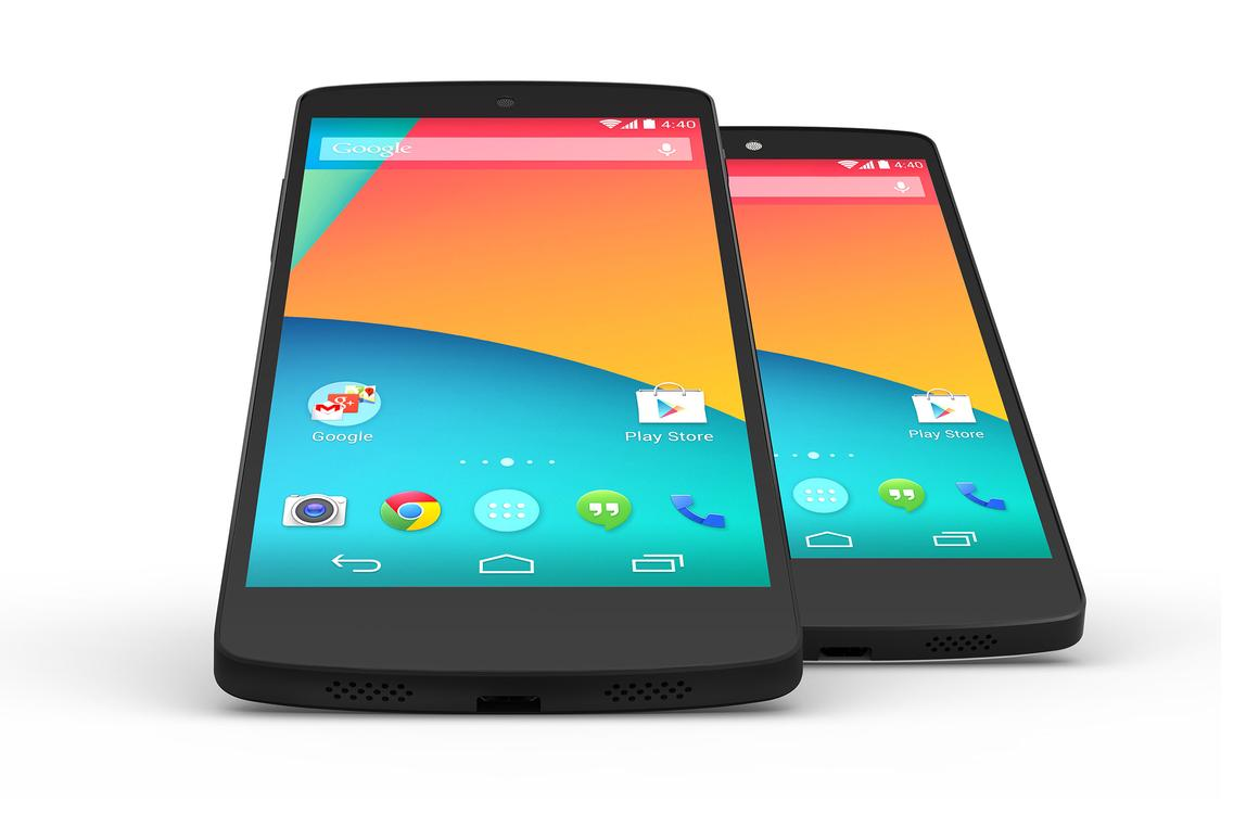 The Nexus 5 is the first device to ship with KitKat