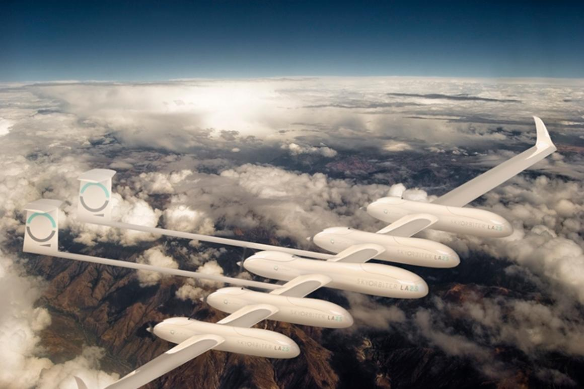 Quarkson wants to provide internet access to every person in the world using its SkyOrbiter UAVs