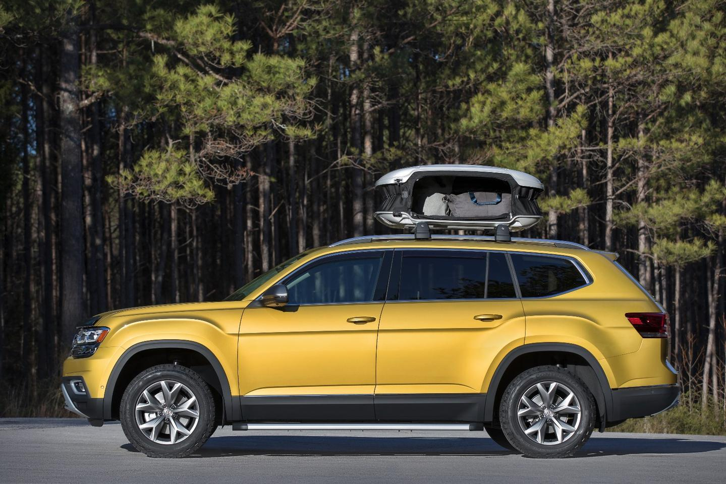The Volkswagen Atlas gets some more room for adventure with the Weekend Edition
