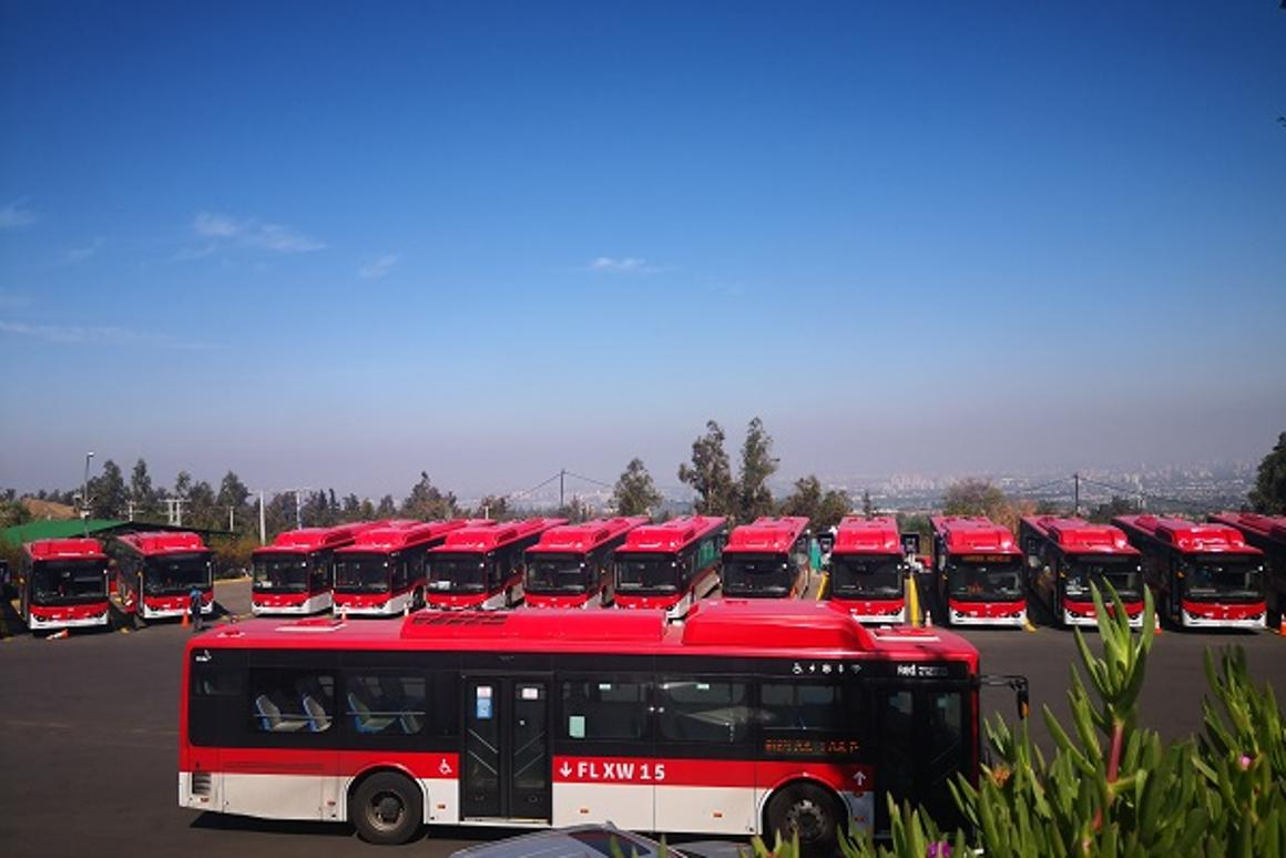 Chinese EV maker BYD has built 285 electric buses for the city of Santiago
