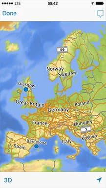 Garmin navigates into smartphone territory with Viago GPS app