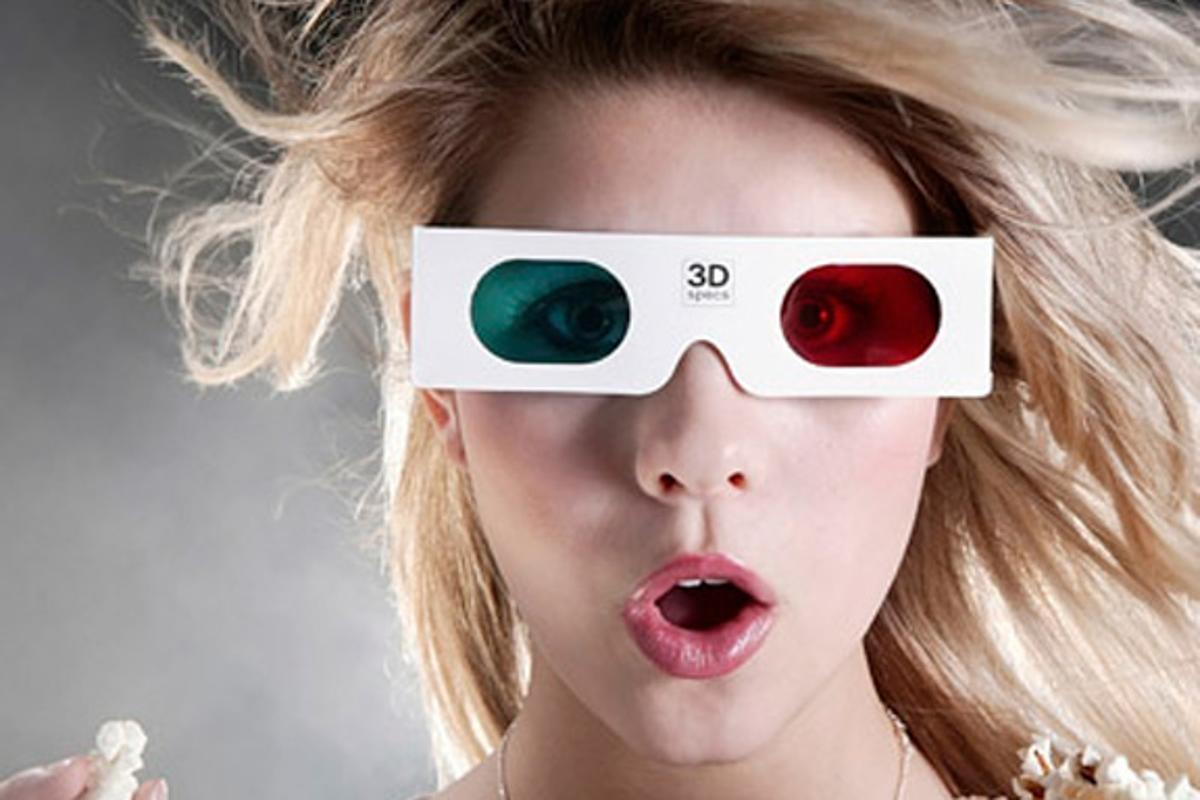The Dualplex Display uses the same principle as ye olde time 3D glasses