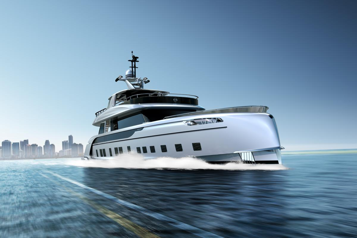 The Dynamiq GTT 115 takes to the ocean... in render form