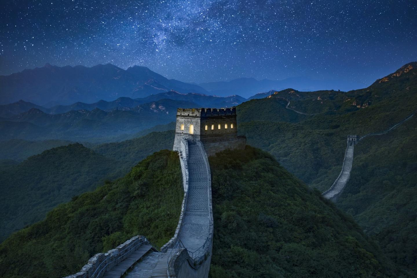 The competition to stay on the Great Wall of China is open until August 11