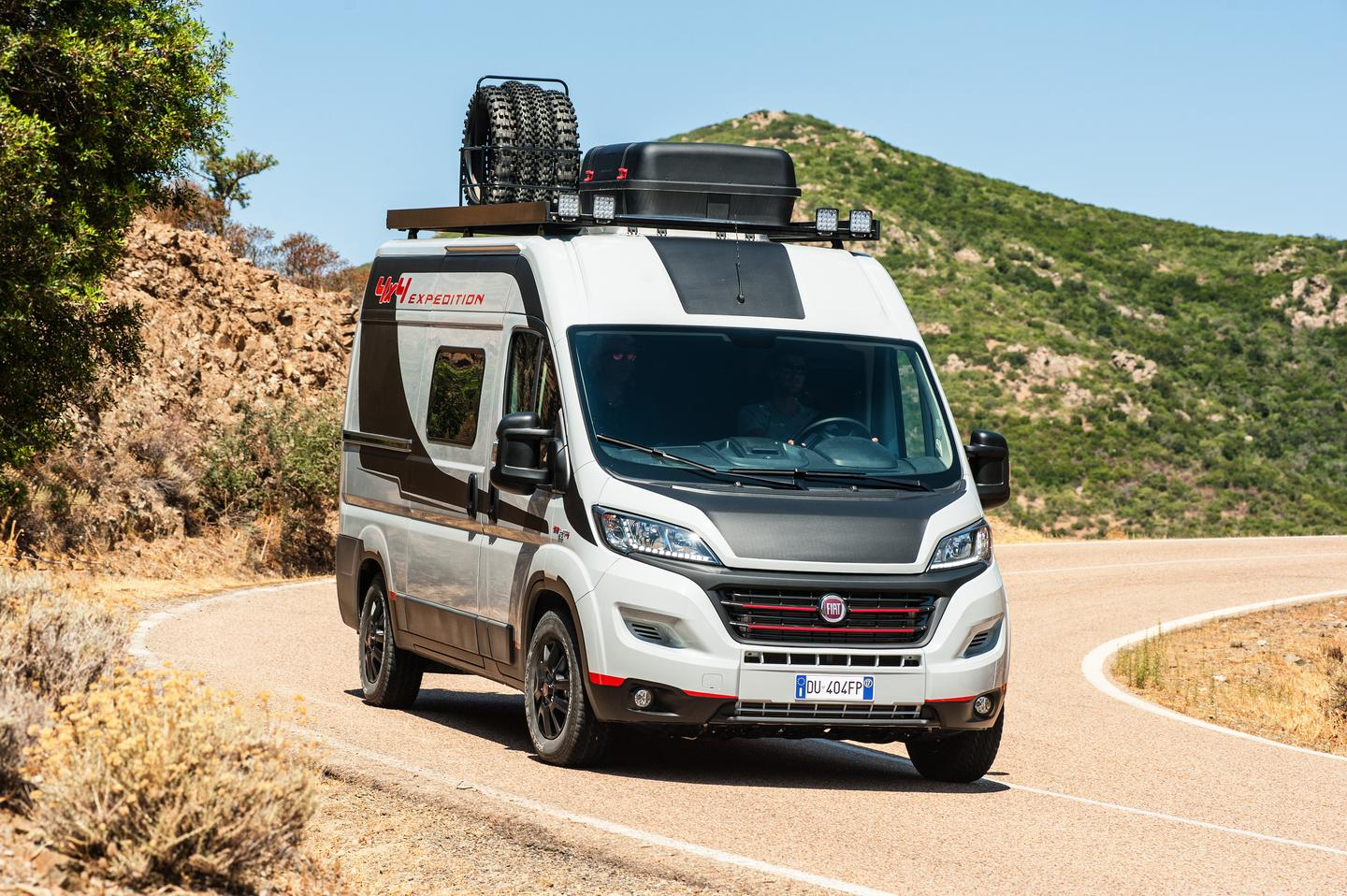 Fiat updates the Ducato 4x4 Expedition show van to celebrate the launch of the production 4x4