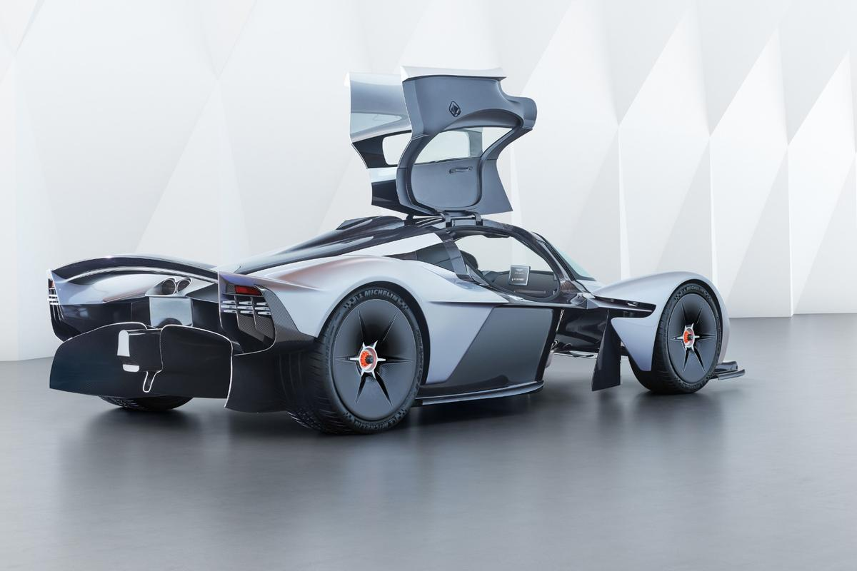 The Aston Martin Valkyrie could be headed to a public road near you