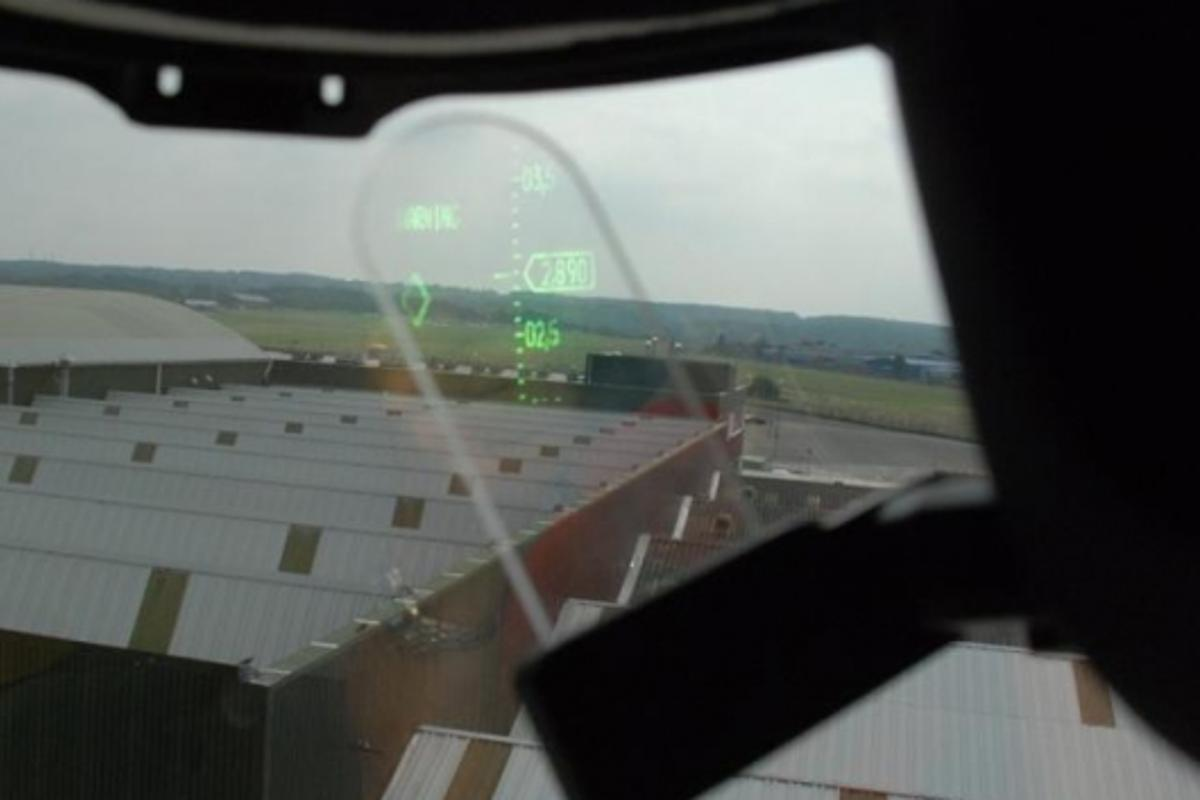Q-Sight - Pilots view