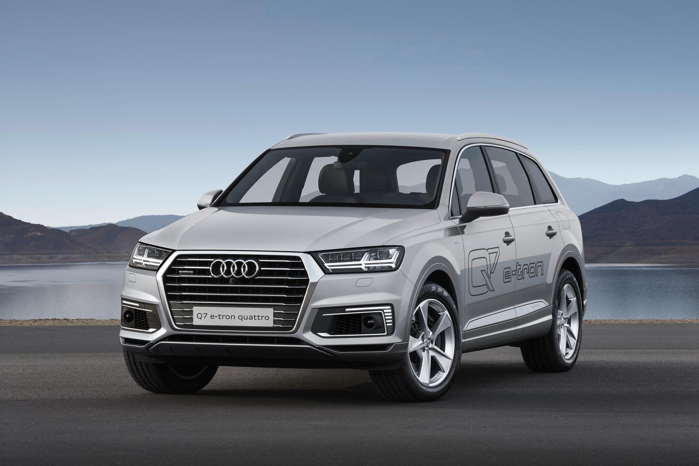 The Q7 hybrid combines an ICE with an electric motor