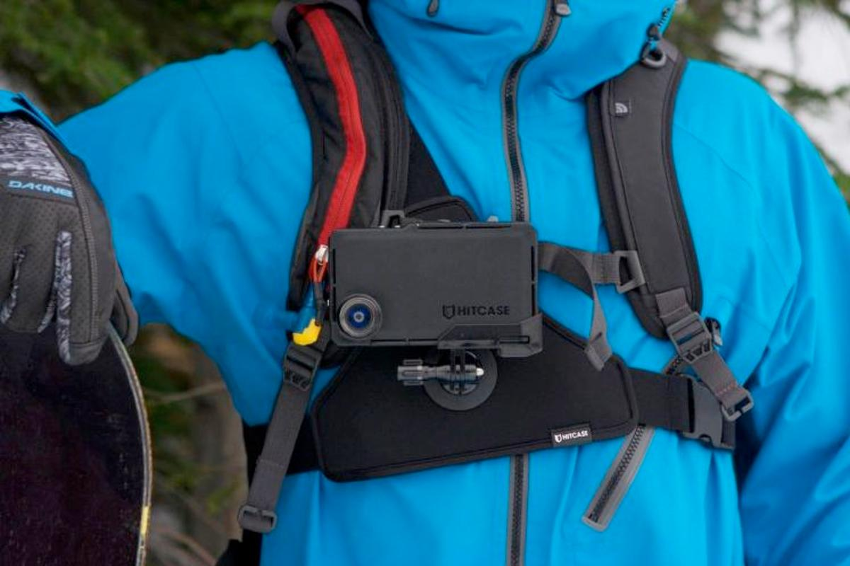 The Hitcase and its ChestR Mount are designed to turn the iPhone into an actioncam