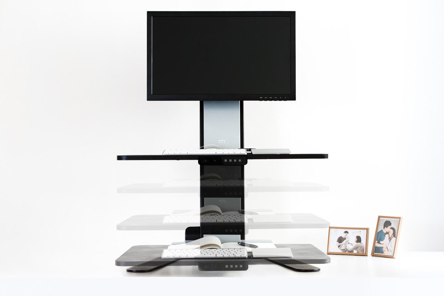 Sit or stand – the Aspirus Smart Workstation lets you decide while still at your desk