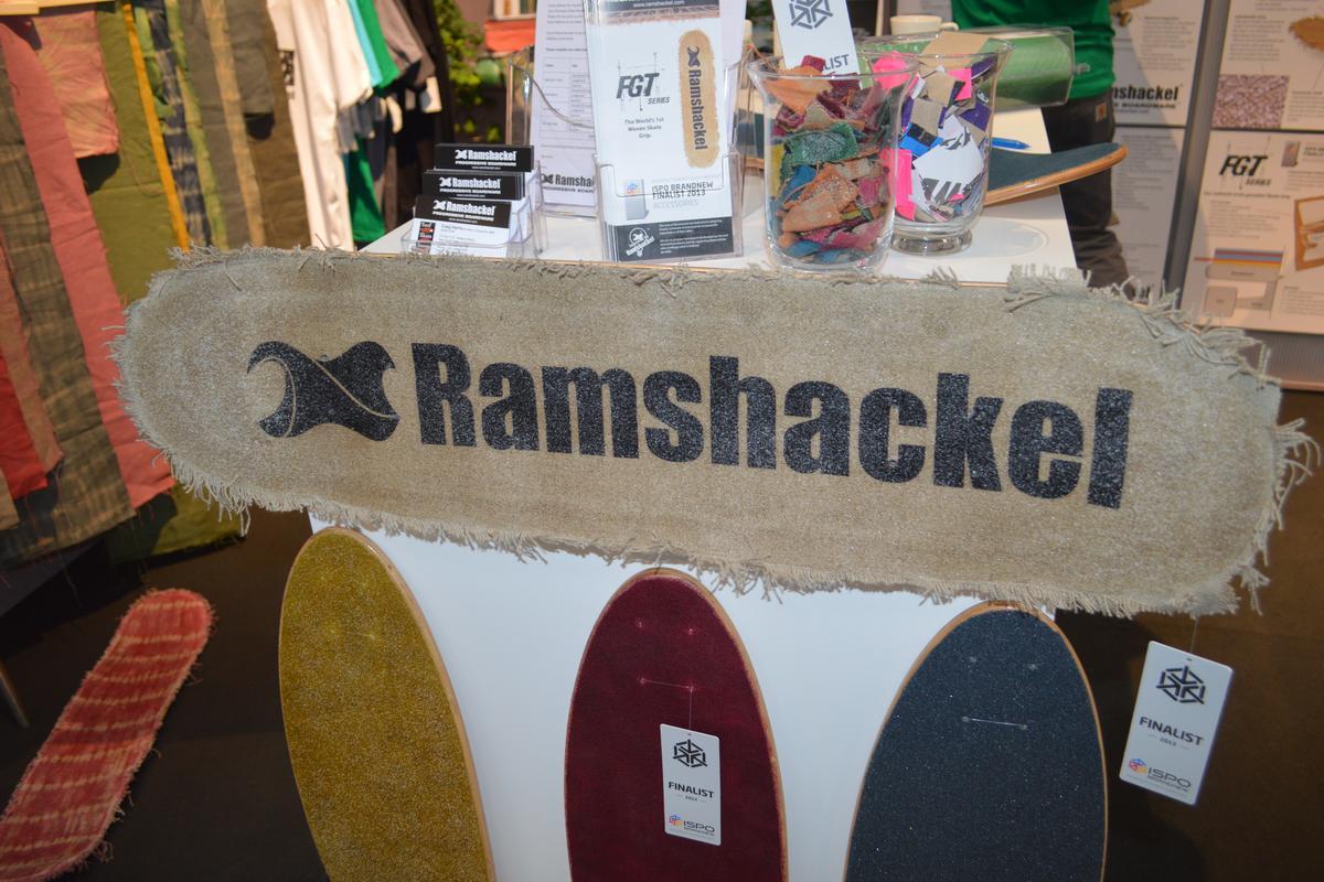 Ramshackel woven hemp skateboard grip