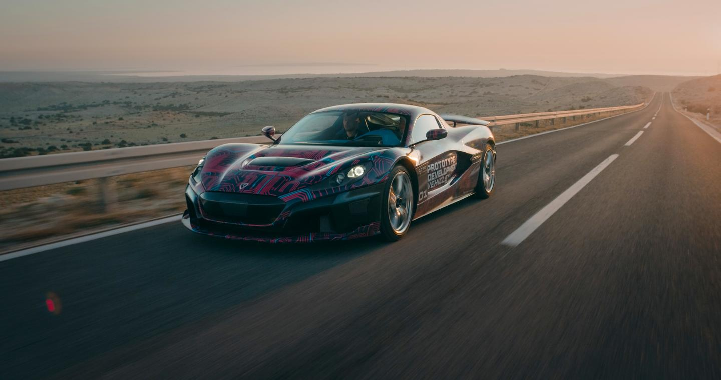 Rimac is building no less than 17 testing prototypes for the C_Two
