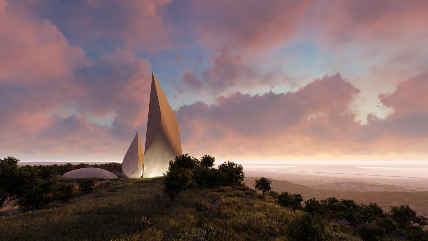 Daniel Libeskind's firm Studio Libeskind has unveiled plans for a striking new museum in Kenya that's designed to resemble the earliest tools made by mankind