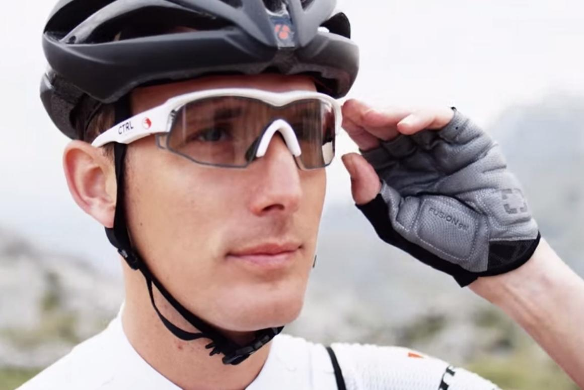The Ctrl One smart glasses can toggle between transparent and sunglasses mode, manually or autonomously at an illumination threshold set by the user