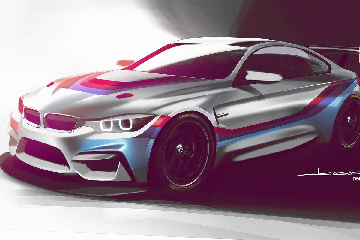 The engine of the M4 GT4will be tuned to kick out between 430 bhp (321 kW) and 480 bhp (358 kW), depending on the racing series in which it is competing