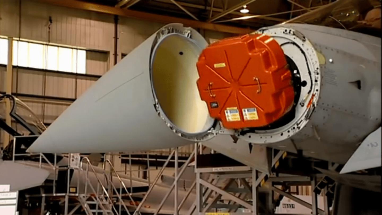 Captor E-Scan radar system installed aboard BAE's IPA5 development aircraft (Photo: BAE Systems)