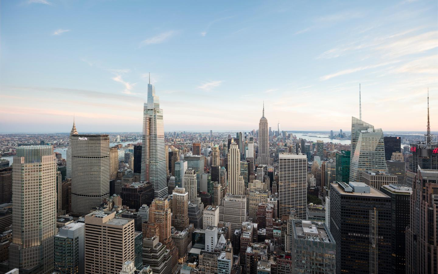During One Vanderbilt's design, KPF drew inspiration from iconic towers like the Chrysler Building and Empire State Building