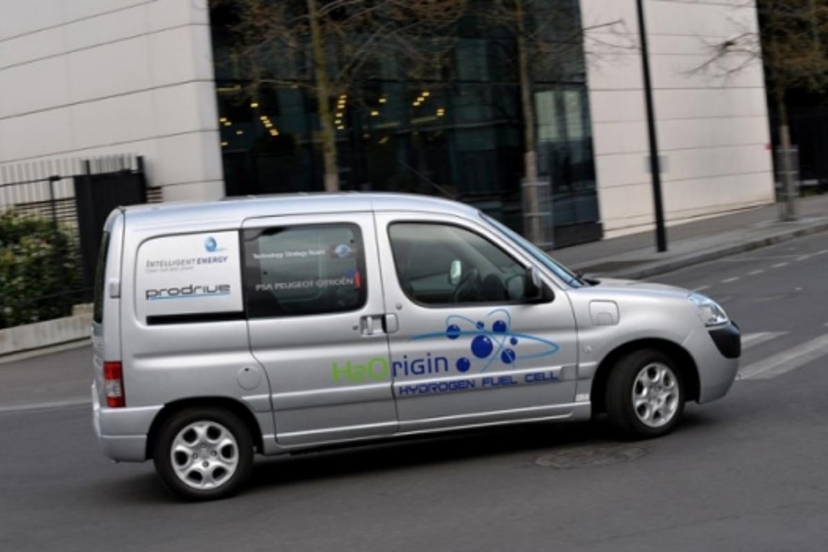 H2Origin demonstrator vehicle