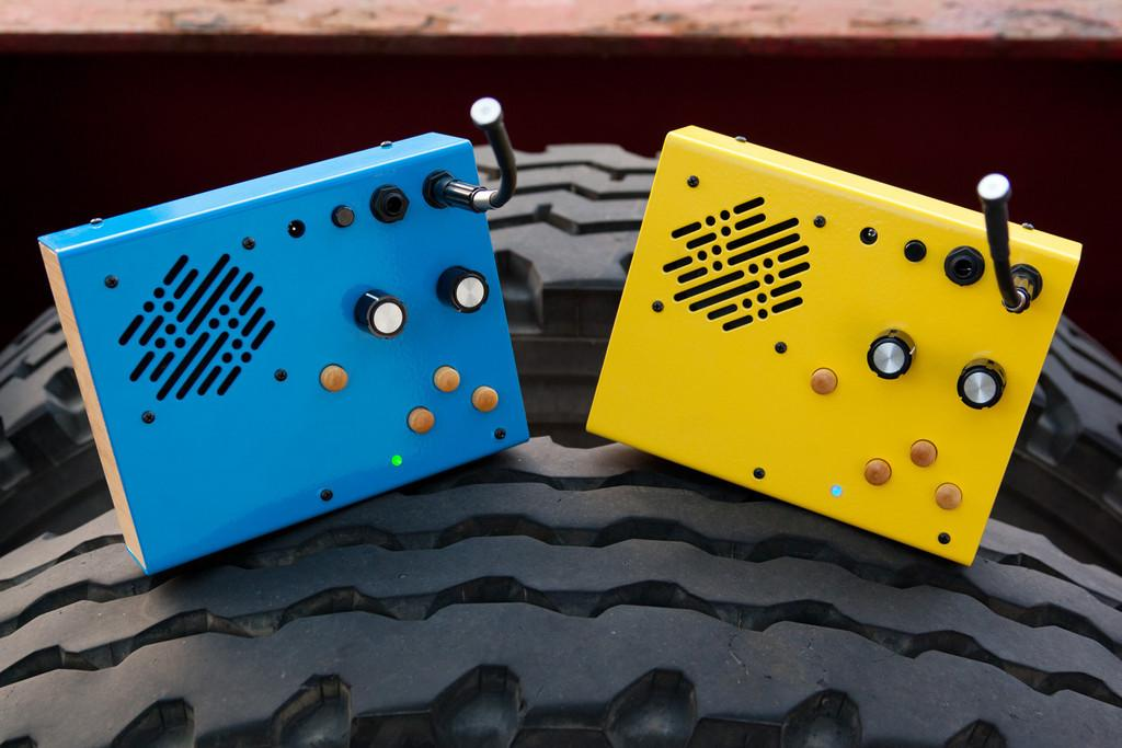 The Kaleidoloop by Critter and Guitari is a lo-fi sound collector