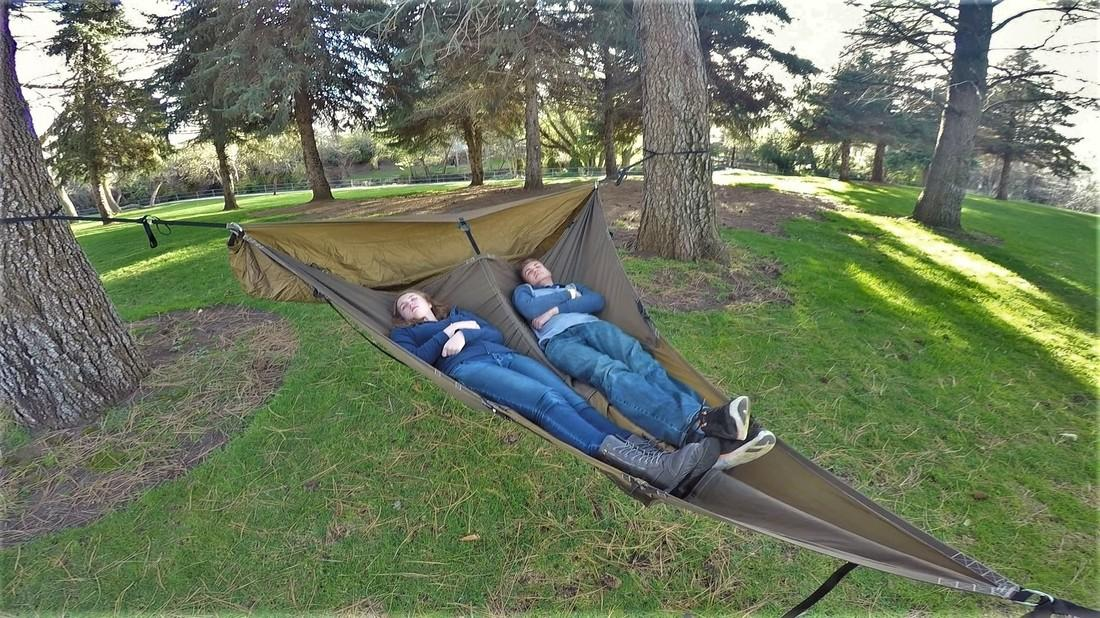 TheTreble Hammock 2.0 fits one or two people