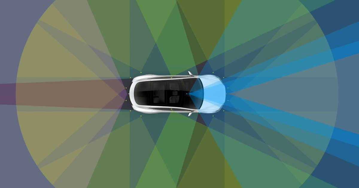 All new Teslas will come equipped with self-driving hardware providing the vehicle with 360-degree vision