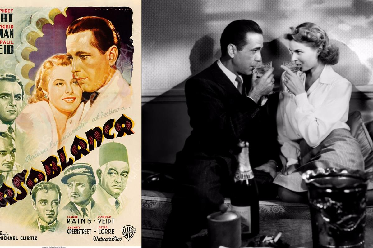 $478,000 Casablanca movie poster bridges movie collectible and art genres