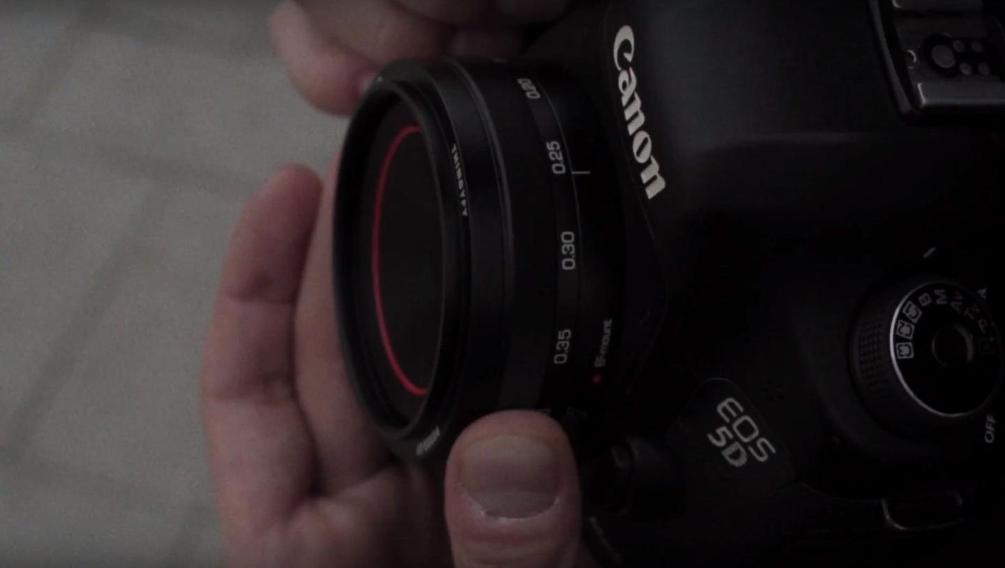 The Pinhole Pro S series lenses are available with11 mm and37 mm Wide Angle Focal Lengths