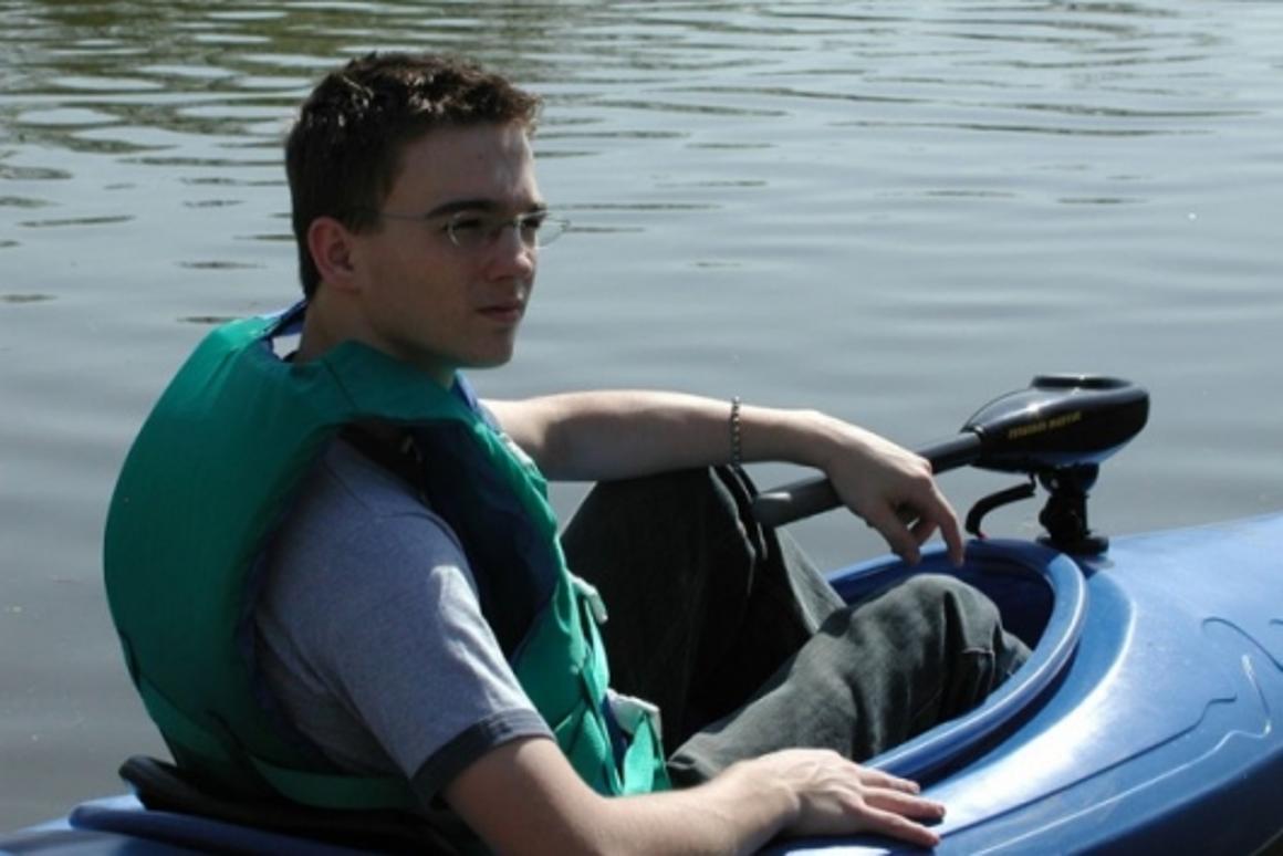 Quiet cruising: Kayacht's electric powered kayak kit