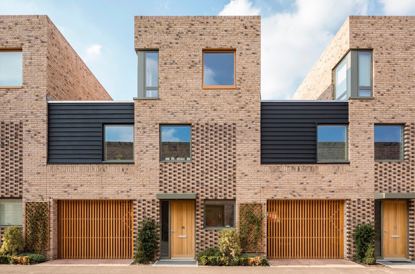 Abode, Great Kneighton, by Proctor and Matthews Architects, is a 300 unit housing project