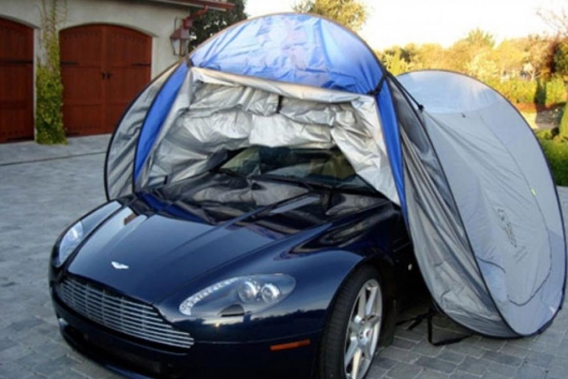 The Touchless Car Cover