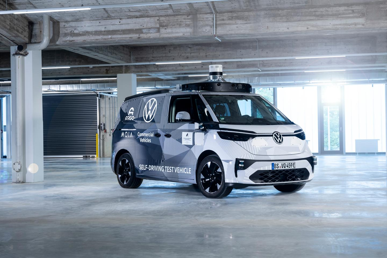 폭스바겐은 자율주행 ID를 도입할 계획이다.  2025년 차량 공유 서비스의 일환으로 함부르크 거리에서 떠들썩