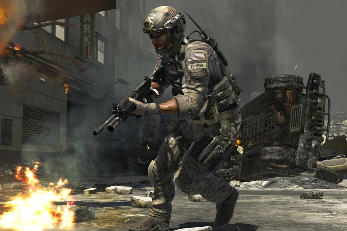 The researchers compared Call of Duty:Modern Warfare3 (pictured),FIFA 2013 and episodes of Friends